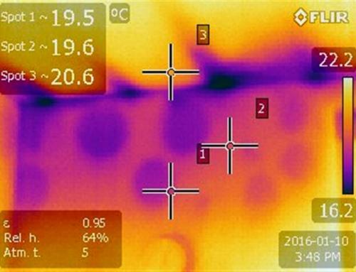 Testare termografie casa Sighetul Marmatiei