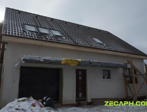 Sistem de ventilatie cu recuperare de caldura casa Gheorgheni