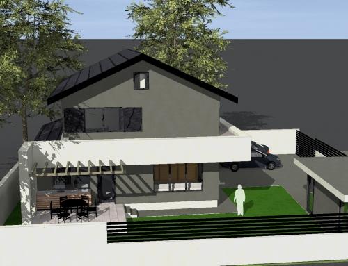 Casa cu un consum redus de energie in lucru in Ploiesti – proiectata utilizand standardul caselor pasive