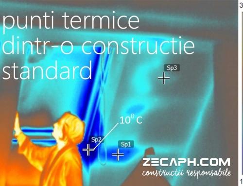 Despre puntile termice si de ce o constructie responsabila nu are pierderi de caldura sau punti termice