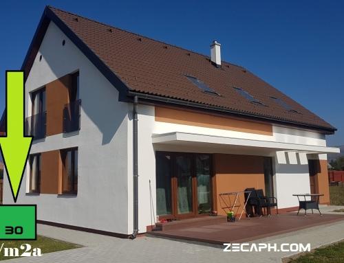 Casa cu un consum redus de energie in Gheorgheni – Harghita finalizata