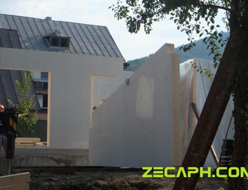 Montaj parter casa performanta energetica pe structura din lemn – Brasov