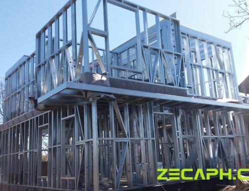 Casa pe structura metalica cu un consum redus de energie in Pitesti