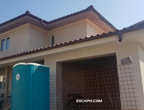 Controlul lucrarilor ascunse de etansare – testare prin blower door casa Bucuresti