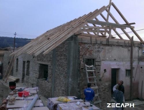 Reabilitare energetica la standard de casa pasiva a unei case Sasesti in judetul Cluj