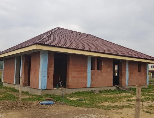 Constructie cu un consum redus de energie in Cristian