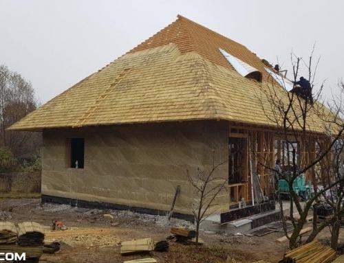 Casa traditionala din canepa cu un consum redus de energie, pe Valea Prahovei