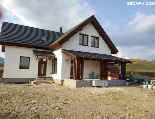 Constructie cu un consum redus de energie in Gheorgheni